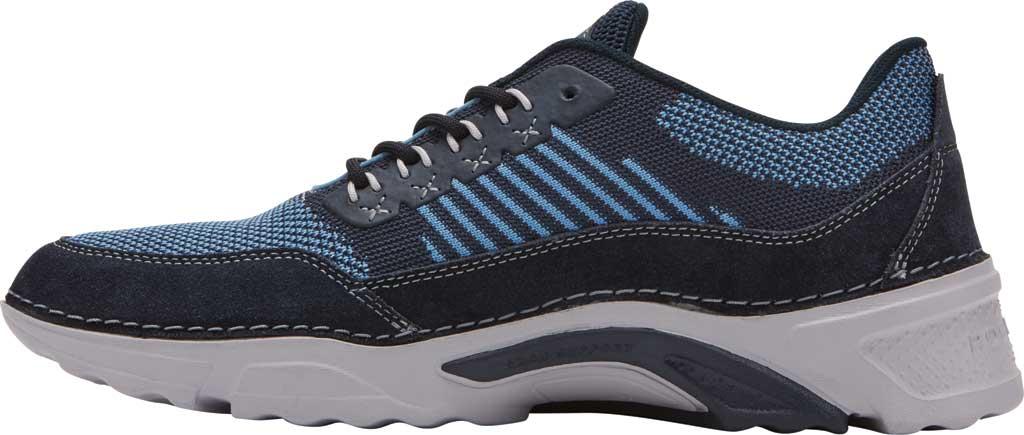 Men's Rockport Rocsports Ubal Sneaker, Navy Mesh/Suede, large, image 3