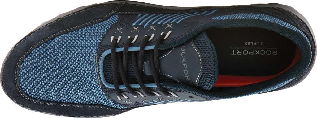 Men's Rockport Rocsports Ubal Sneaker, Navy Mesh/Suede, large, image 4