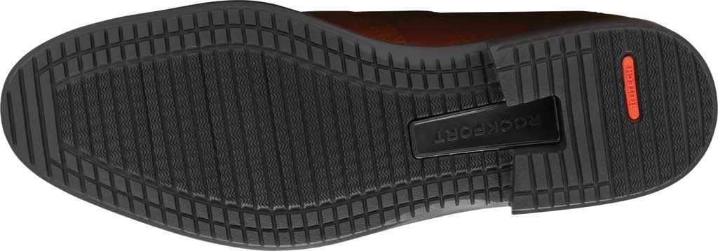 Men's Rockport Total Motion DresSport Wing Tip Oxford, Tan Leather, large, image 5