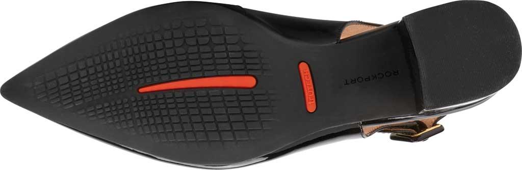 Women's Rockport Total Motion Noelle Slingback, Black Patent Leather, large, image 5