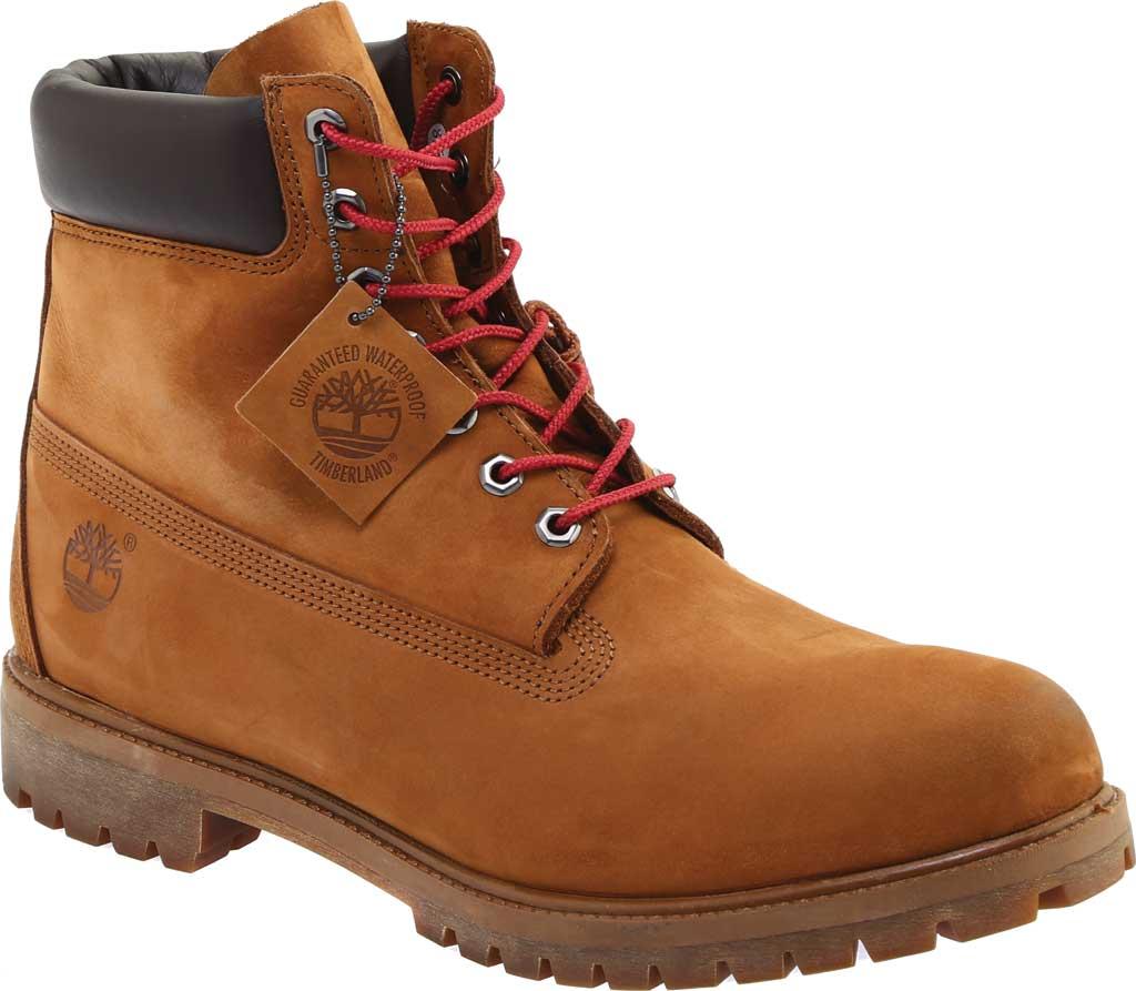 "Men's Timberland 6"" Premium Boot, Tundra Waterbuck Nubuck, large, image 1"