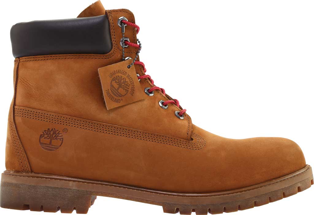 "Men's Timberland 6"" Premium Boot, Tundra Waterbuck Nubuck, large, image 2"