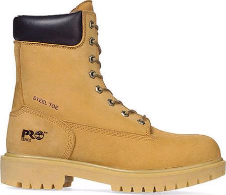"Men's Timberland PRO Direct Attach 8"" Steel Toe Work Boot, Wheat Nubuck, large, image 1"