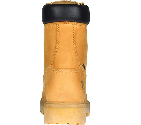 "Men's Timberland PRO Direct Attach 8"" Steel Toe Work Boot, Wheat Nubuck, large, image 3"