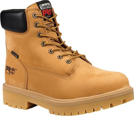 "Men's Timberland PRO Direct Attach 6"" Soft Toe Boot, Wheat Nubuck, large, image 1"