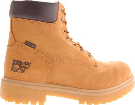 "Men's Timberland PRO Direct Attach 6"" Soft Toe Boot, Wheat Nubuck, large, image 2"