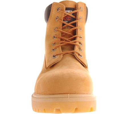 "Men's Timberland PRO Direct Attach 6"" Soft Toe Boot, Wheat Nubuck, large, image 4"