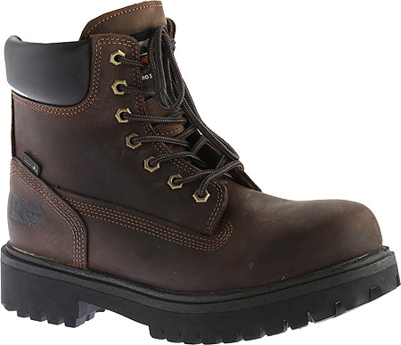 """Men's Timberland PRO Direct Attach 6"""" Soft Toe Boot, Brown Oiled Full Grain Leather, large, image 1"""