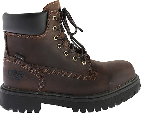 """Men's Timberland PRO Direct Attach 6"""" Soft Toe Boot, Brown Oiled Full Grain Leather, large, image 2"""
