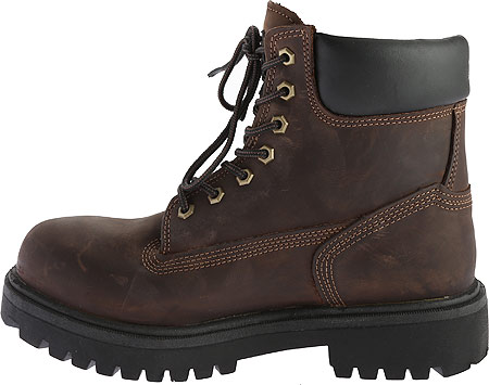 """Men's Timberland PRO Direct Attach 6"""" Soft Toe Boot, Brown Oiled Full Grain Leather, large, image 3"""
