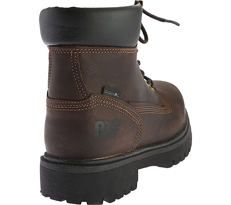 """Men's Timberland PRO Direct Attach 6"""" Soft Toe Boot, Brown Oiled Full Grain Leather, large, image 4"""