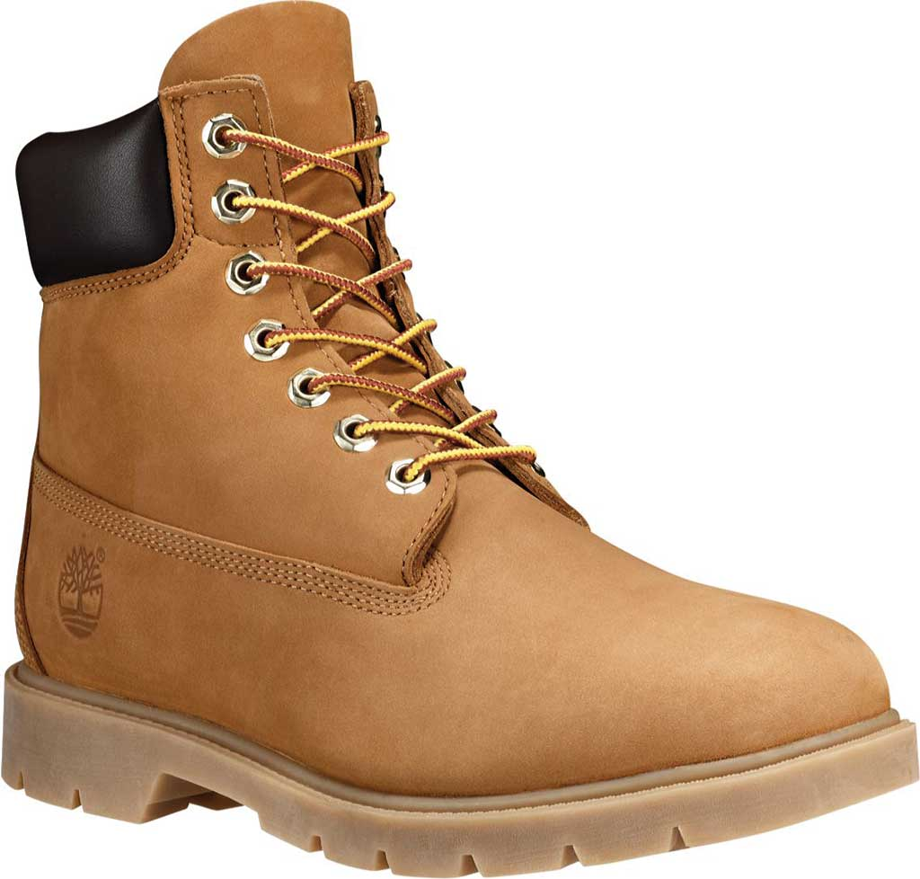 "Men's Timberland Classic 6"" Basic Waterproof, Wheat Nubuck, large, image 1"