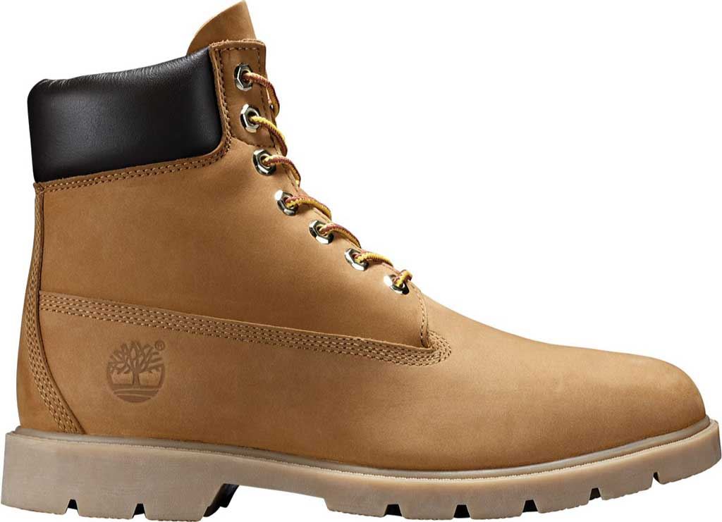"Men's Timberland Classic 6"" Basic Waterproof, Wheat Nubuck, large, image 2"