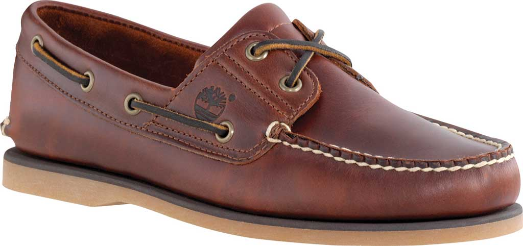 Men's Timberland Classic Boat 2-Eye, Rootbeer Smooth Leather, large, image 1