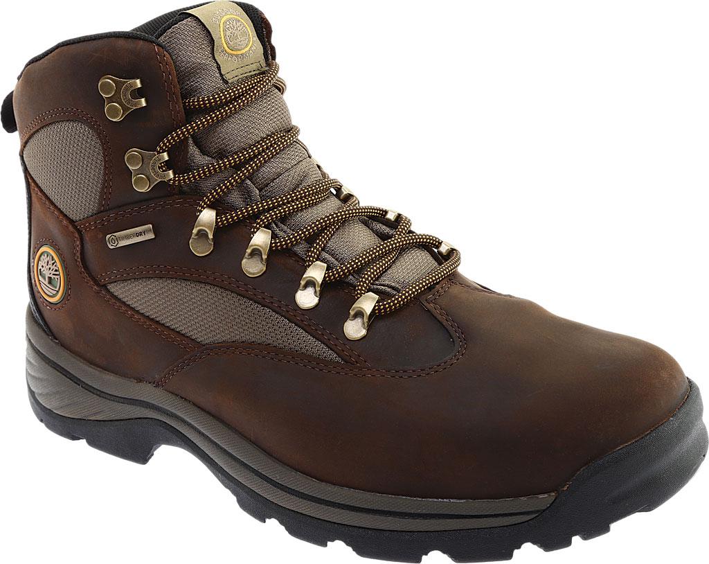 Men's Timberland Chocorua Trail Waterproof Hiking Boot, Brown w/ Green, large, image 1