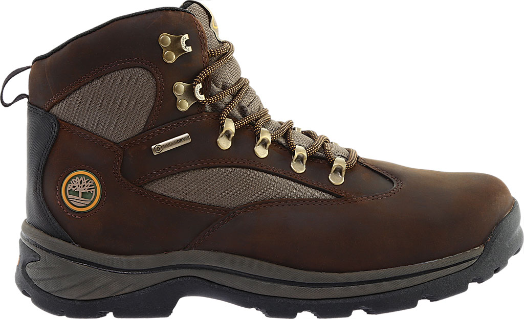 Men's Timberland Chocorua Trail Waterproof Hiking Boot, Brown w/ Green, large, image 2
