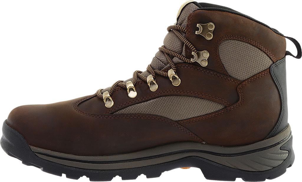 Men's Timberland Chocorua Trail Waterproof Hiking Boot, Brown w/ Green, large, image 3