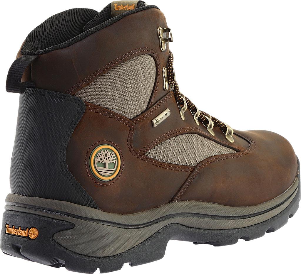 Men's Timberland Chocorua Trail Waterproof Hiking Boot, Brown w/ Green, large, image 4