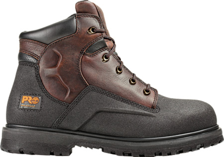 "Men's Timberland PRO Powerwelt 6"" WP Steel Toe, Rancher Brown Oiled Leather, large, image 1"