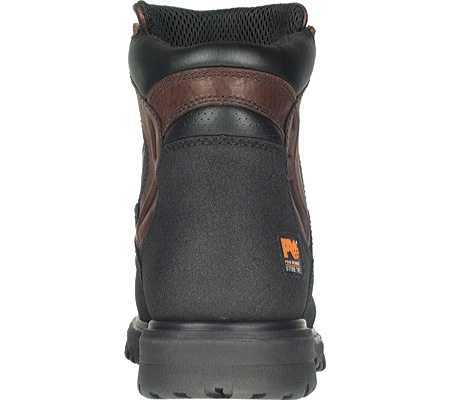 """Men's Timberland PRO Powerwelt 6"""" WP Steel Toe, Rancher Brown Oiled Leather, large, image 2"""