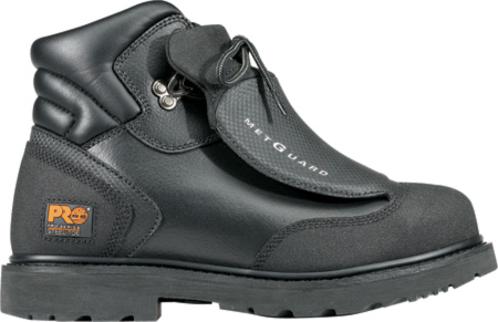 Men's Timberland PRO Met Guard Steel Toe, Black Ever Guard Leather, large, image 1
