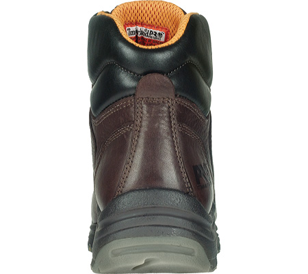 "Men's Timberland PRO TiTAN® 6"" Safety Toe WP, Dark Mocha Full Grain Leather, large, image 2"