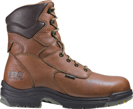 """Men's Timberland PRO TiTAN® 8"""" Safety Toe WP, Cappucino Full Grain Leather, large, image 1"""