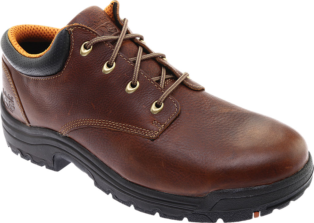 Men's Timberland PRO TiTAN® Oxford Soft Toe, Haystack Brown Oiled Leather, large, image 1