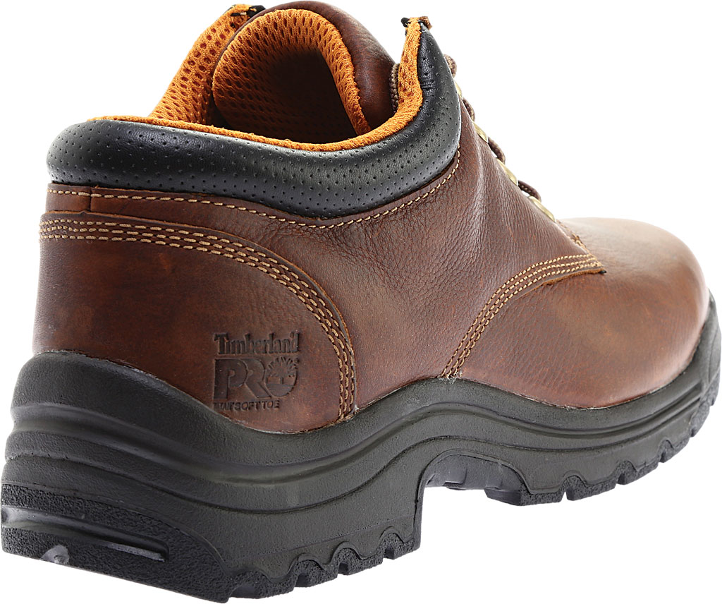 Men's Timberland PRO TiTAN® Oxford Soft Toe, Haystack Brown Oiled Leather, large, image 4