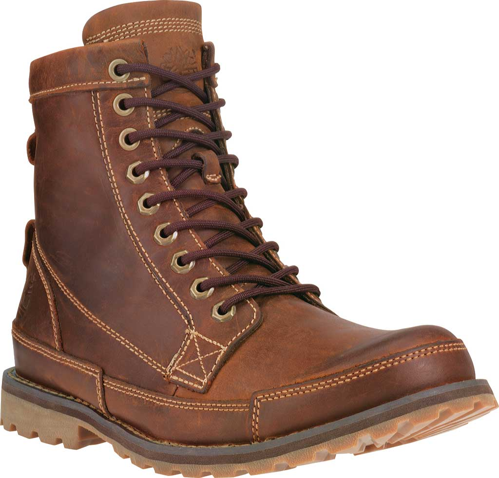 """Men's Timberland Earthkeepers Originals 6"""" Boot, Red Brown Burnished Full Grain Leather, large, image 1"""