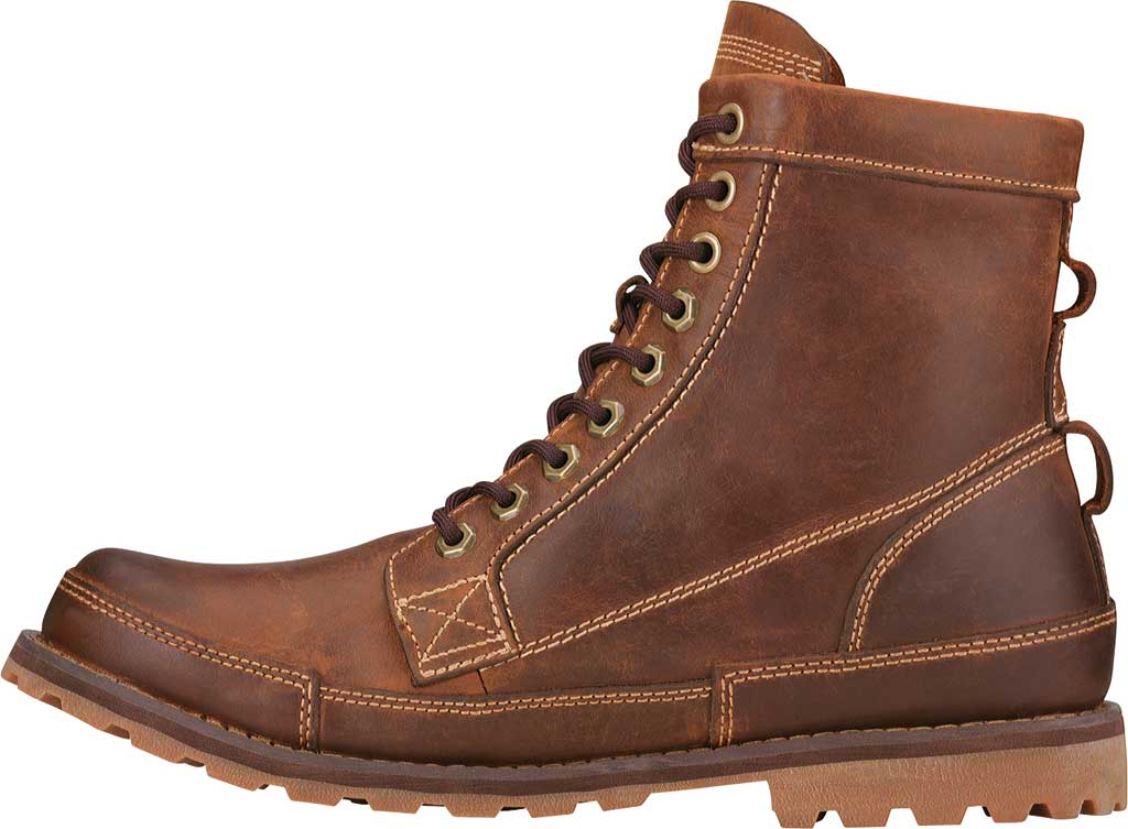 """Men's Timberland Earthkeepers Originals 6"""" Boot, Red Brown Burnished Full Grain Leather, large, image 2"""