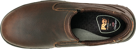 Men's Timberland PRO TiTAN Slip-On Safety Toe, Camel Brown Oiled Full Grain Leather, large, image 3