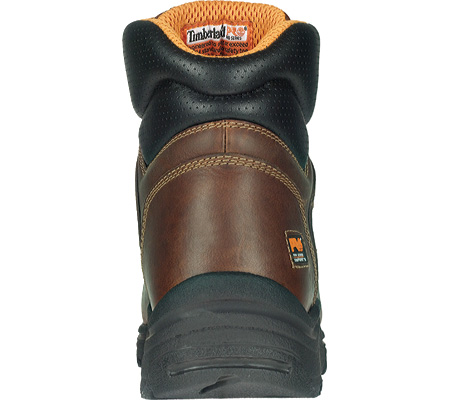 """Men's Timberland PRO TiTAN® Lace-To-Toe 6"""" Safety Toe, Haystack Brown Full Grain Leather, large, image 2"""