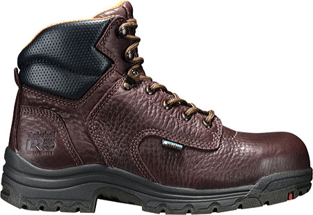 "Women's Timberland PRO TiTAN® Waterproof 6"" Safety Toe, Dark Mocha Full Grain Leather, large, image 2"