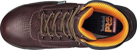 "Women's Timberland PRO TiTAN® Waterproof 6"" Safety Toe, Dark Mocha Full Grain Leather, large, image 4"