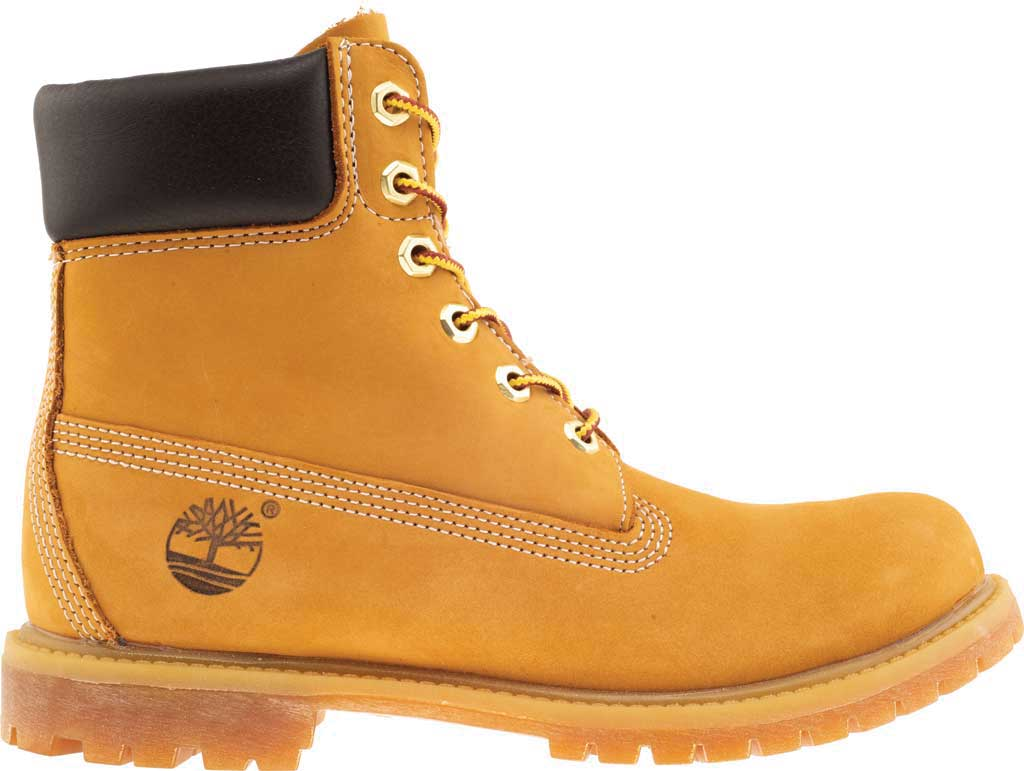 "Women's Timberland Earthkeepers 6"" Premium Boot, Wheat Nubuck, large, image 2"