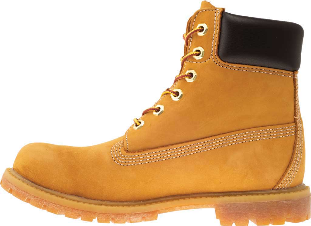 "Women's Timberland Earthkeepers 6"" Premium Boot, Wheat Nubuck, large, image 3"