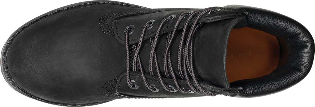 "Women's Timberland Earthkeepers 6"" Premium Boot, Black Smooth, large, image 4"