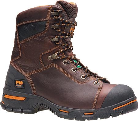 "Men's Timberland PRO Endurance PR 8"" Steel Toe, Brown Full Grain Leather, large, image 1"