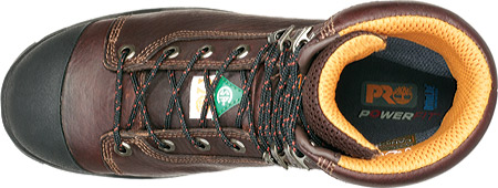 "Men's Timberland PRO Endurance PR 8"" Steel Toe, Brown Full Grain Leather, large, image 4"