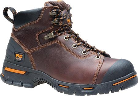 "Men's Timberland PRO Endurance PR 6"" Steel Toe, Brown Full Grain Leather, large, image 1"