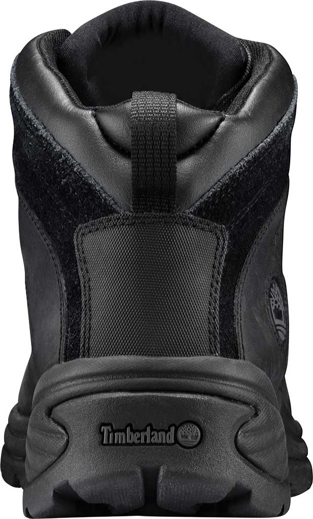 Men's Timberland Flume Mid Waterproof Boot, Black Waterproof Leather, large, image 3