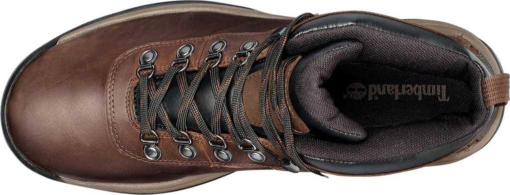 Men's Timberland Flume Mid Waterproof Boot, Dark Brown, large, image 4
