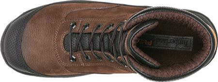 "Men's Timberland PRO TiTAN Endurance 6"" XL Safety Toe, Brown Nubuck/Everguard Full Grain Leather, large, image 3"