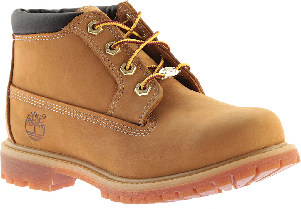 Women's Timberland Classic Nellie Lace-up Boot, Wheat Nubuck Leather, large, image 1