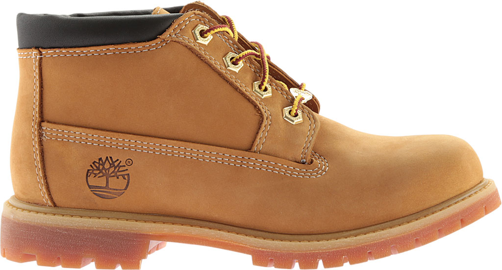Women's Timberland Classic Nellie Lace-up Boot, Wheat Nubuck Leather, large, image 2