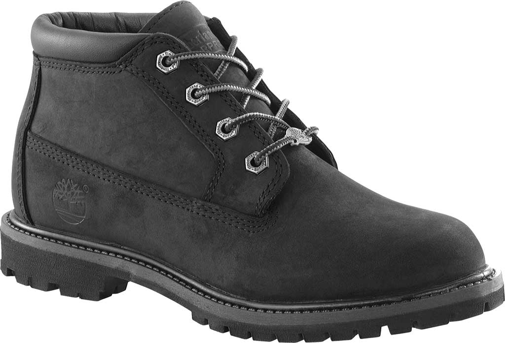 Women's Timberland Classic Nellie Lace-up Boot, Black Nubuck Leather, large, image 1