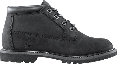 Women's Timberland Classic Nellie Lace-up Boot, Black Nubuck Leather, large, image 2