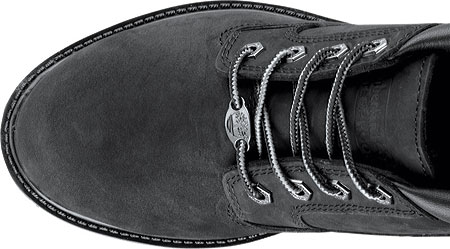 Women's Timberland Classic Nellie Lace-up Boot, Black Nubuck Leather, large, image 4
