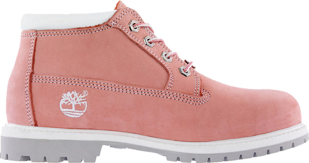 Women's Timberland Classic Nellie Lace-up Boot, Medium Pink Nubuck, large, image 2